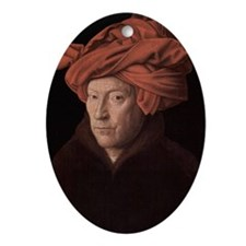 Man in a Turban Ornament (Oval)