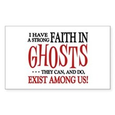 Ghosts Exist Decal