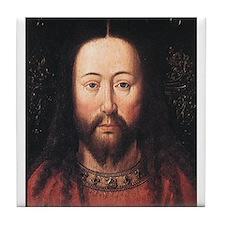 Portrait of Christ Tile Coaster