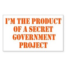 Product of Government Decal