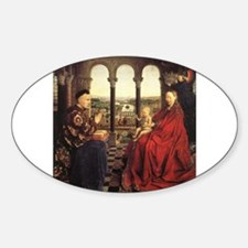 The Virgin of Chancellor Roli Sticker (Oval)
