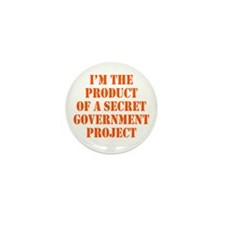 Product of Government Mini Button (100 pack)