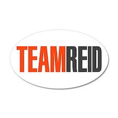 Team Reid Criminal Minds 22x14 Oval Wall Peel