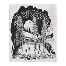 Daikers Logo Throw Blanket