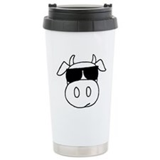 Cow Head Travel Mug