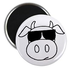 """Cow head 2.25"""" Magnet (10 pack)"""