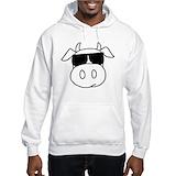 Cow Light Hoodies