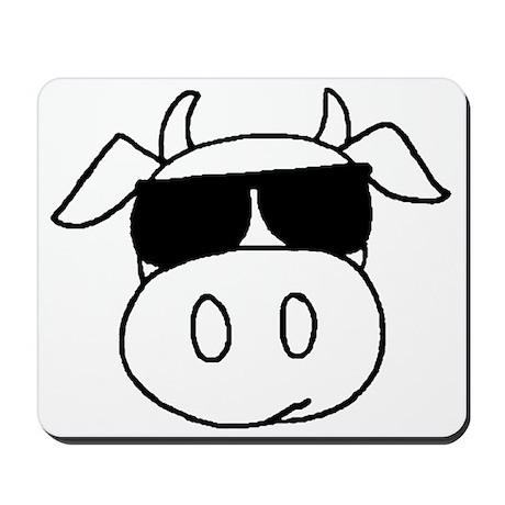 Cow Head Mousepad
