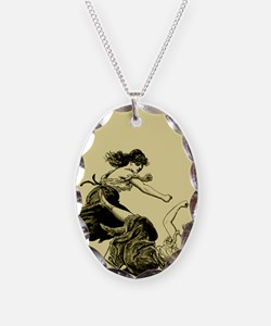 Girl Fight Necklace