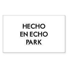 Hecho En Echo Park Decal
