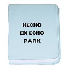 Hecho En Echo Park baby blanket