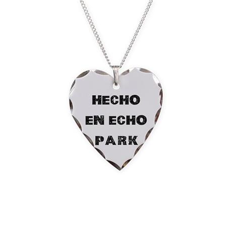 Hecho En Echo Park Necklace Heart Charm