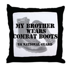 My Brother Wears NG CB Throw Pillow