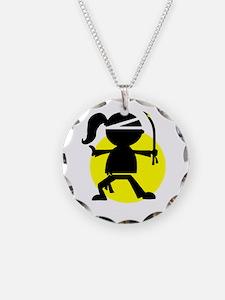 Necklace Ninja Fighter Girl