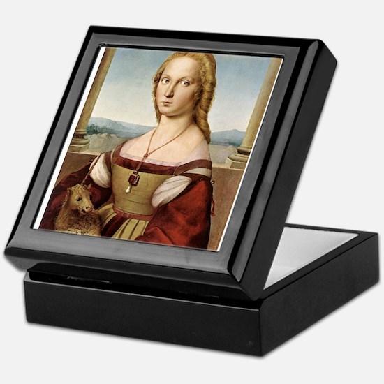 Lady with a Unicorn Keepsake Box