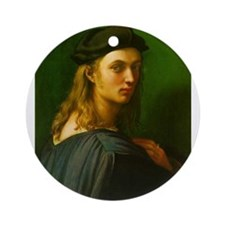 Portrait of Bindo Altoviti Ornament (Round)