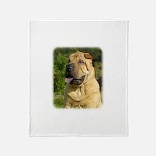 Shar Pei 9A97D-21 Throw Blanket