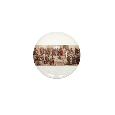 School of Athens Mini Button (100 pack)