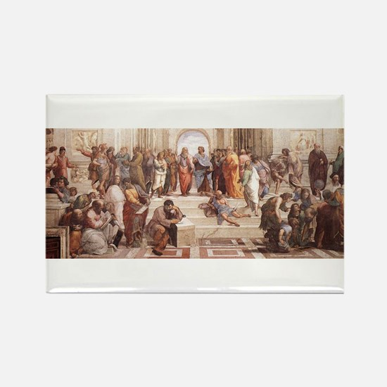 School of Athens Rectangle Magnet