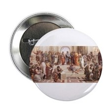 """School of Athens 2.25"""" Button"""