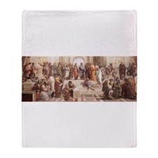 School of Athens Throw Blanket