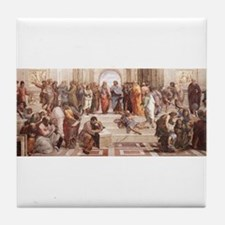 School of Athens Tile Coaster