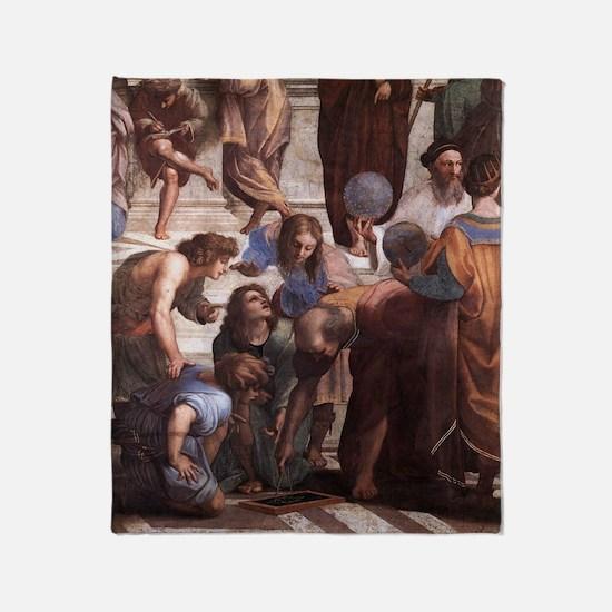 School of Athens (detail - Eu Throw Blanket