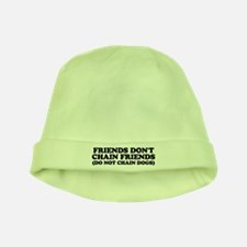 Friends don't chain baby hat