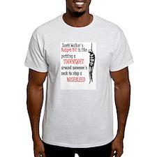 Unique Recall scott walker T-Shirt
