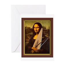 Mona Lisa BP Greeting Card