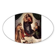 The Sistine Madonna Decal