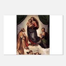 The Sistine Madonna Postcards (Package of 8)