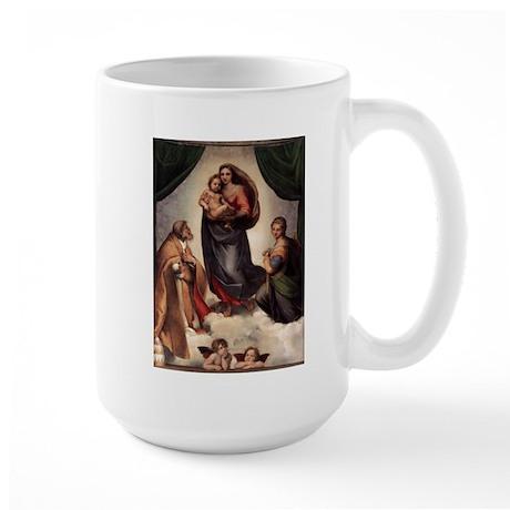 The Sistine Madonna Large Mug
