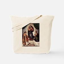 The Sistine Madonna Tote Bag