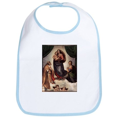 The Sistine Madonna Bib