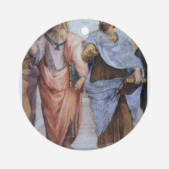 School of Athens (detail - Pl Ornament (Round)