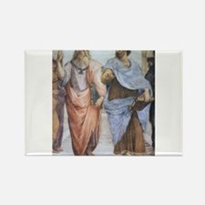 School of Athens (detail - Pl Rectangle Magnet