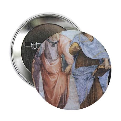 "School of Athens (detail - Pl 2.25"" Button"