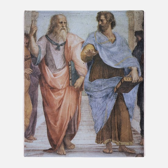 School of Athens (detail - Pl Throw Blanket