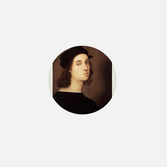 Self Portrait Mini Button