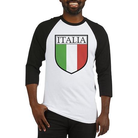 Italia Shield / Italy Flag Baseball Jersey