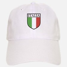 Italia Shield / Italy Flag Baseball Baseball Cap