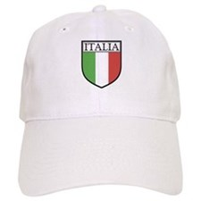 Italia Shield / Italy Flag Baseball Cap