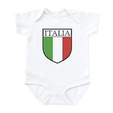 Italia Shield / Italy Flag Infant Creeper
