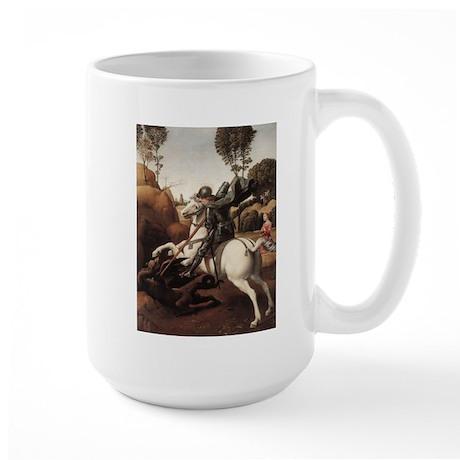 St George and the Dragon Large Mug