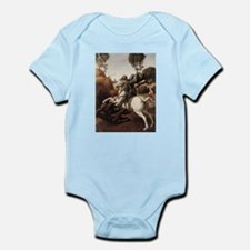 St George and the Dragon Infant Bodysuit