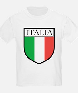 Italia Shield / Italy Flag Kids T-Shirt
