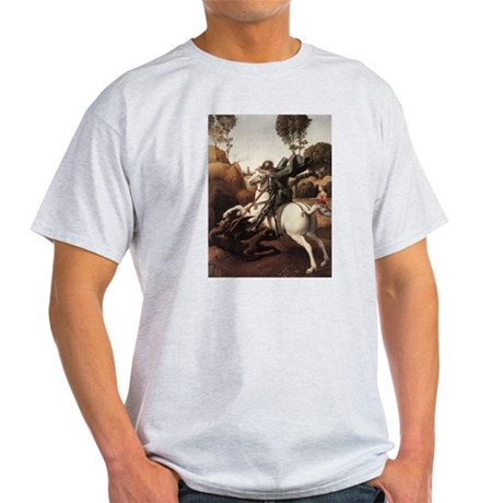 St George and the Dragon Light T-Shirt