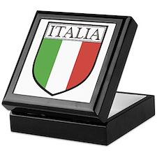 Italia Shield / Italy Flag Keepsake Box