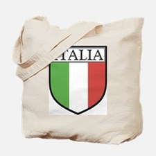 Italia Shield / Italy Flag Tote Bag
